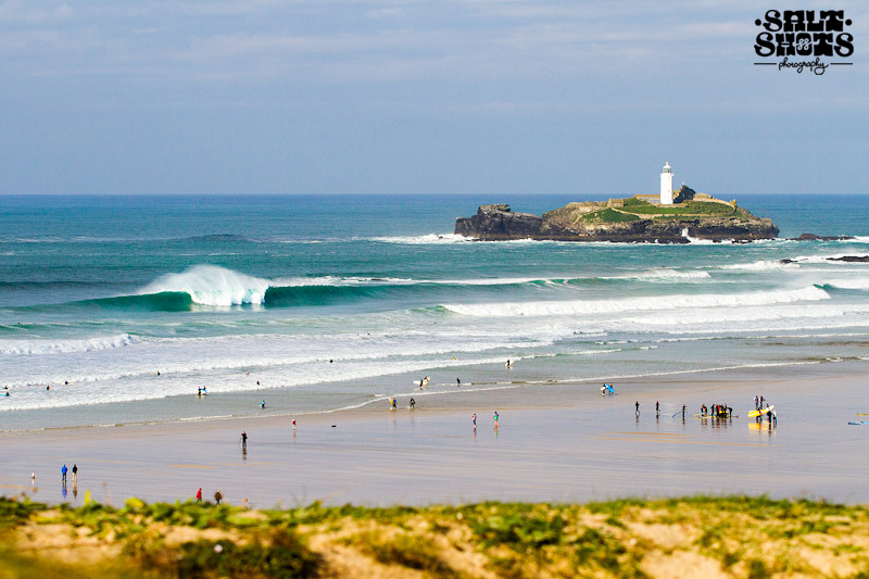 October Surf Report Godrevy