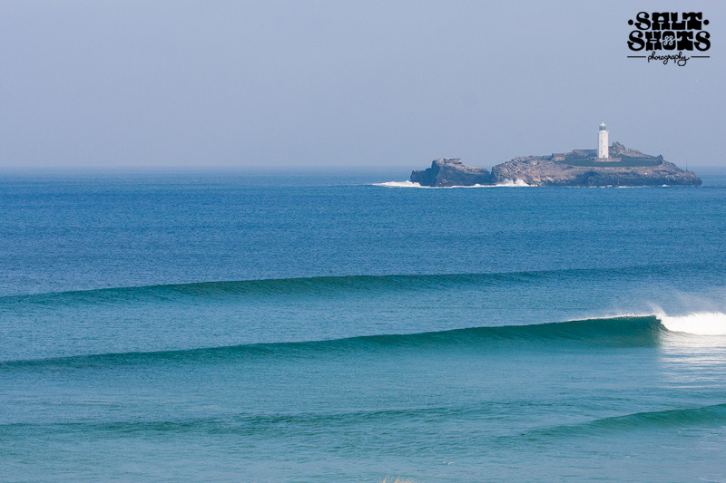 March Surf Report Godrevy