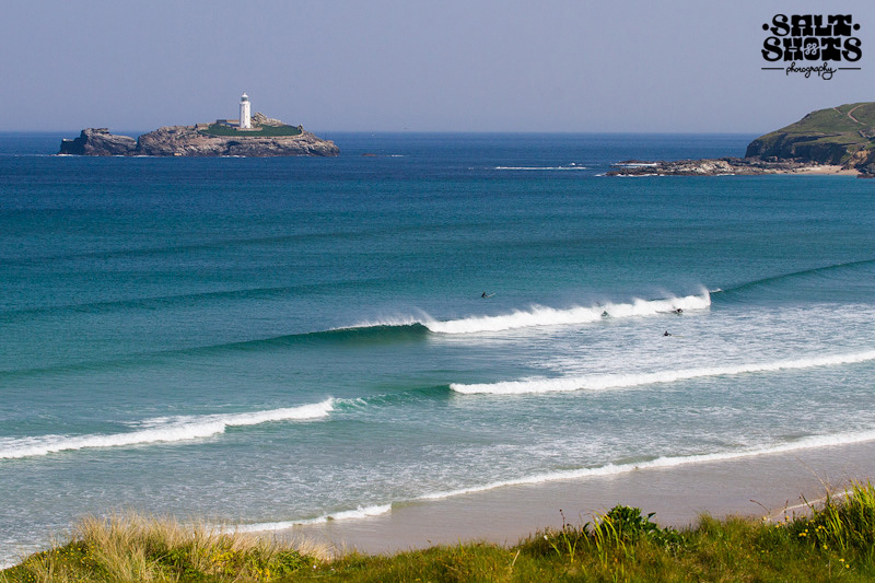 May Surf Report Godrevy