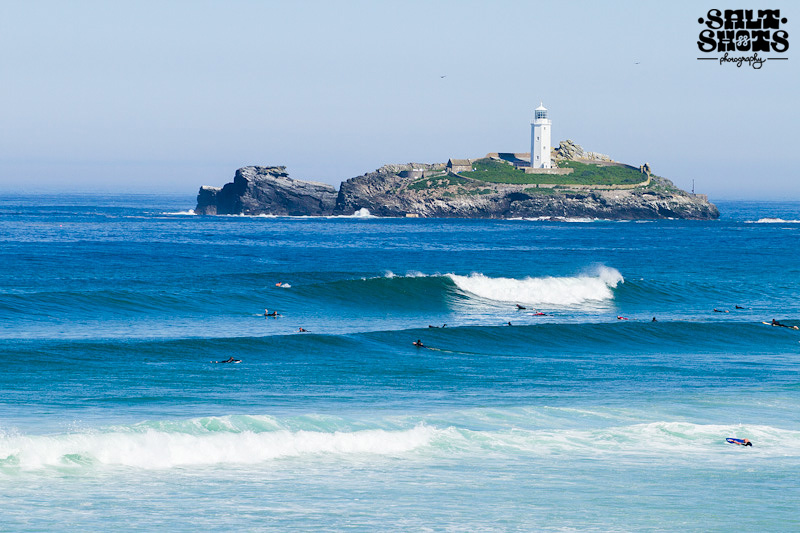 July Surf Report Godrevy