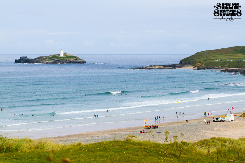 August Surf Report Godrevy